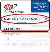Aaa Member Card